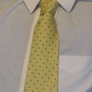Other - Vintage Countess Wara New York  Silk Tie Yellow